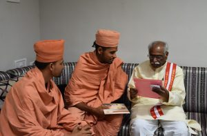 Saints of Swamy Narayan met BANDARU DATTATREYA GARU