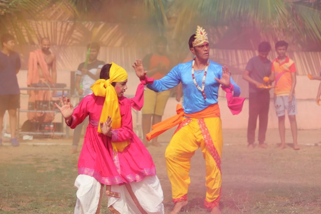 SHREE NEELAKANTH VIDYAPEETH Students Performing Cultural Activities