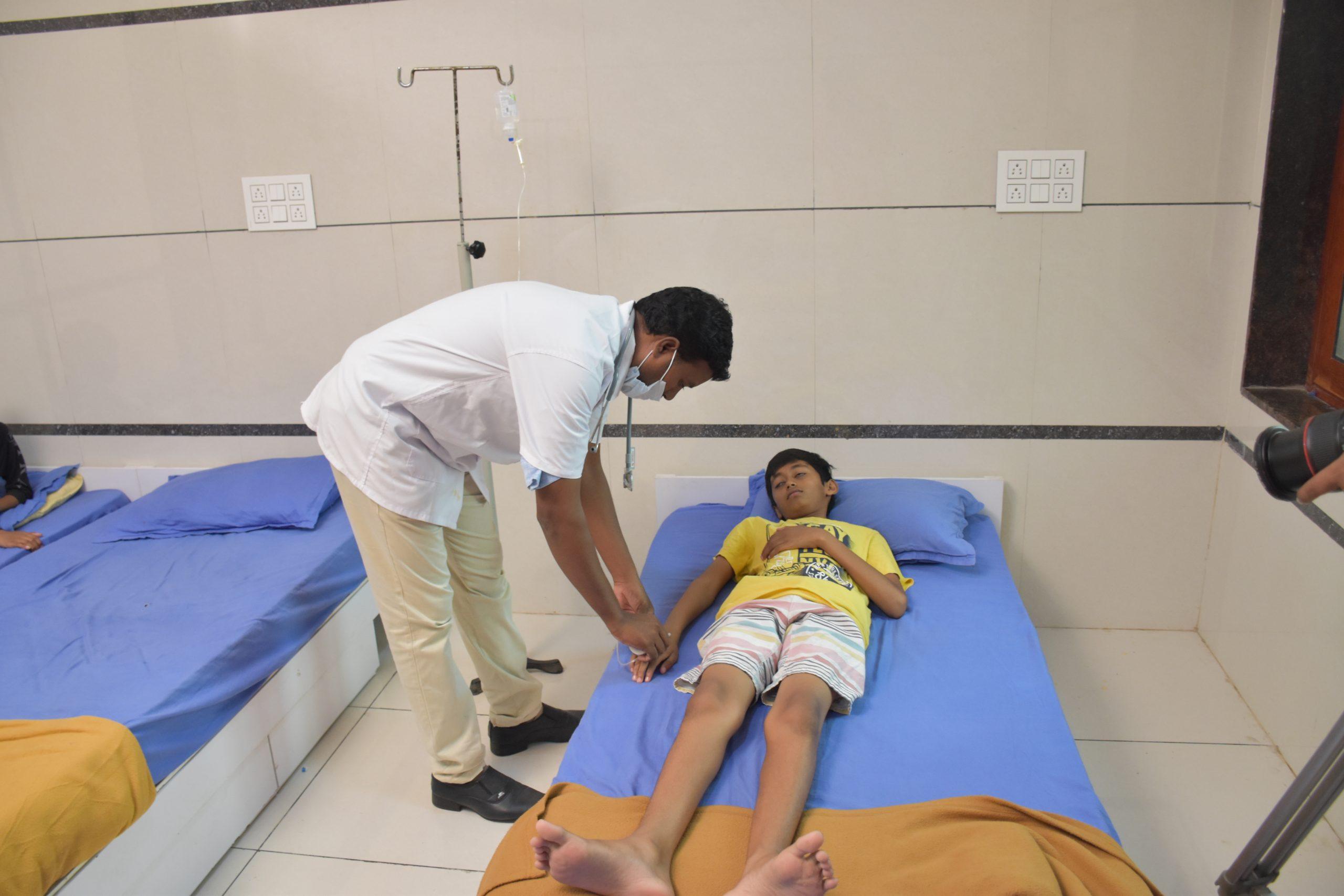 SHREE NEELAKANTH VIDYAPEETH Medical Beds