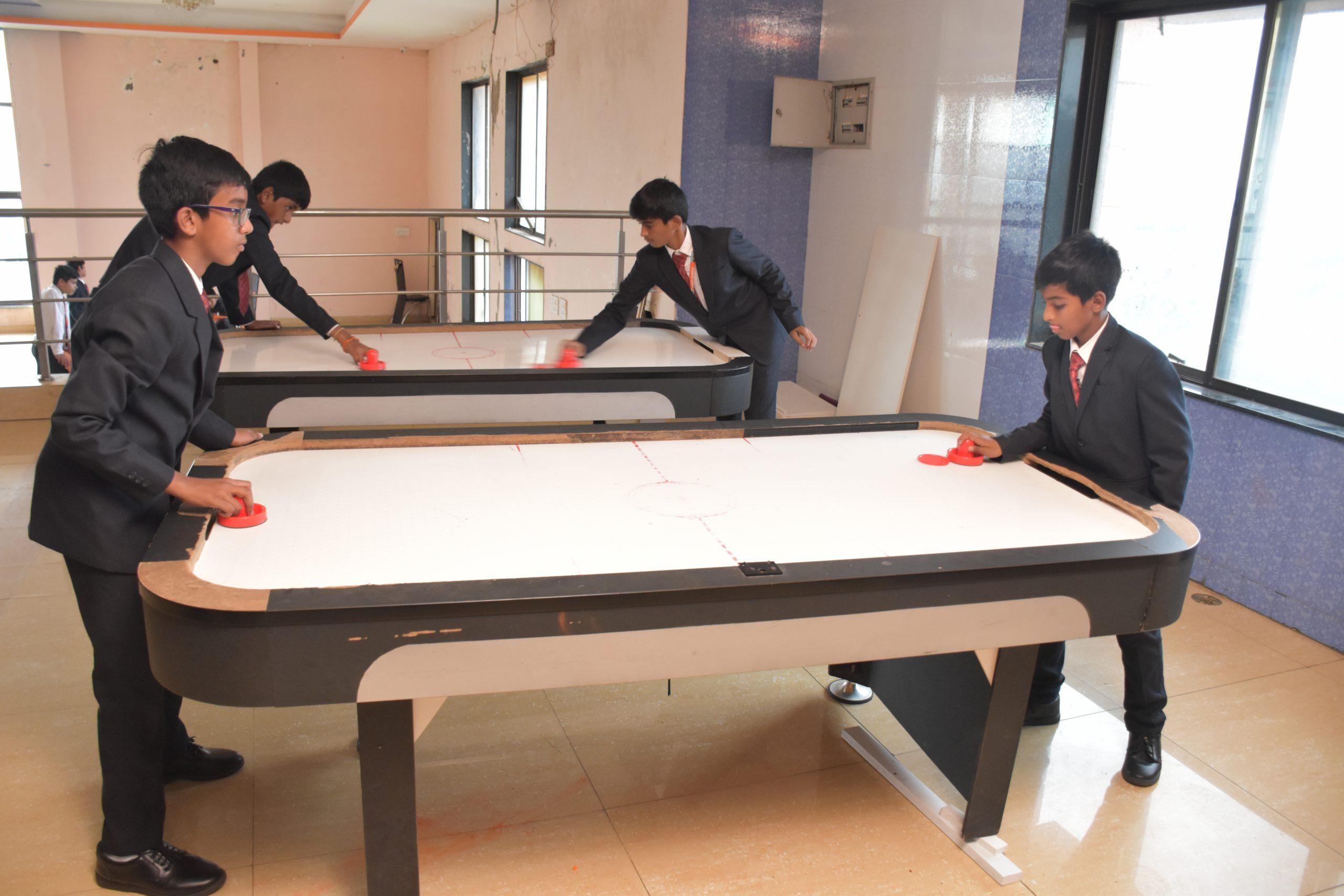 SHREE NEELAKANTH VIDYAPEETH Students Playing Table Tennis