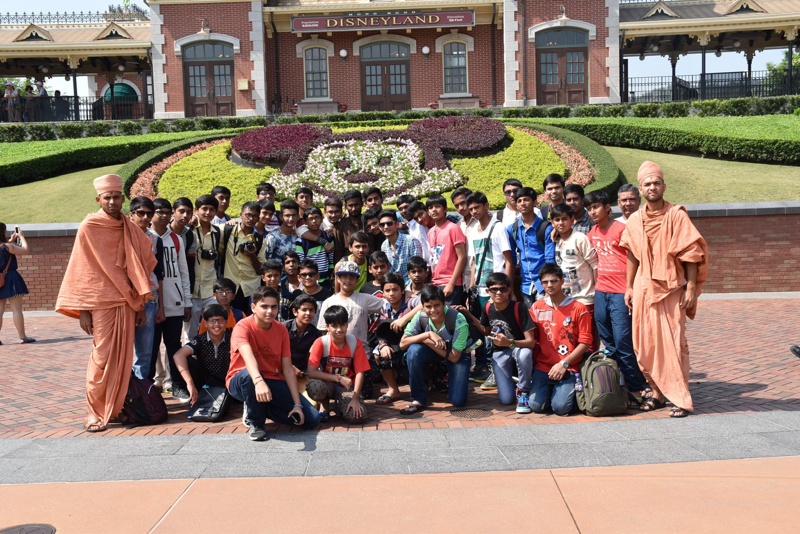 Swamy Narayan Students at Disneyland