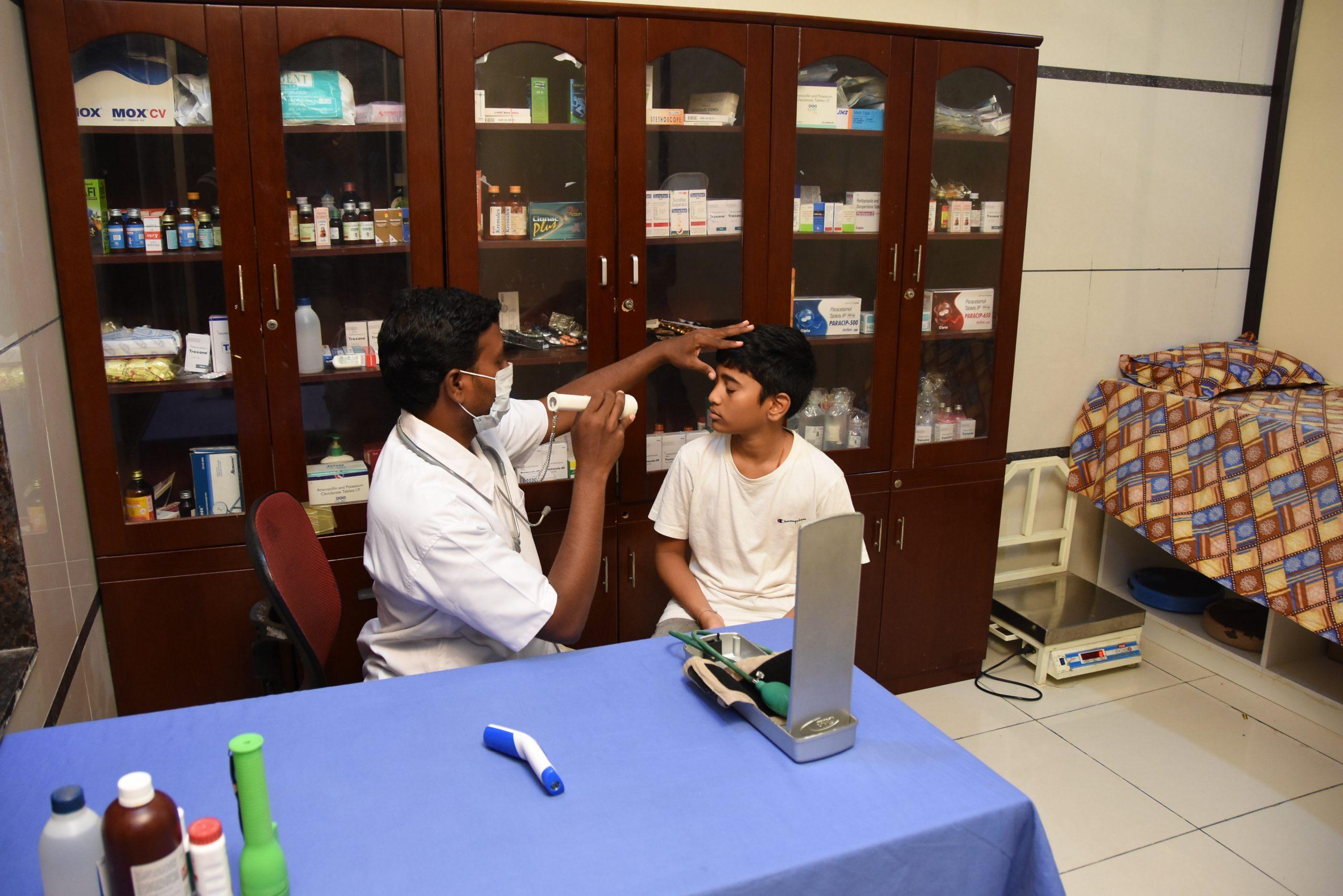 SHREE NEELAKANTH VIDYAPEETH First Aid Medical Room