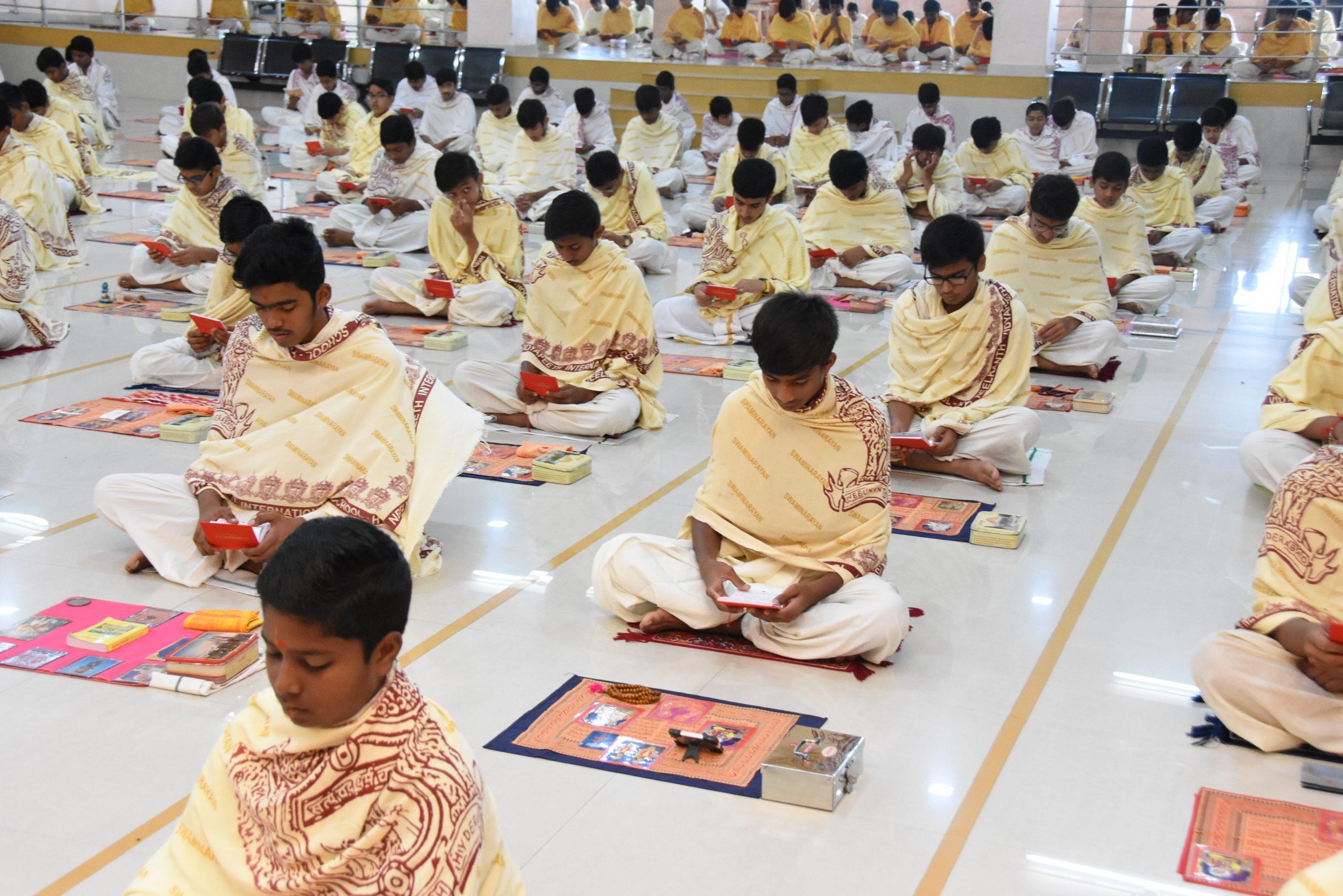 SHREE NEELAKANTH VIDYAPEETH Prayer Hall