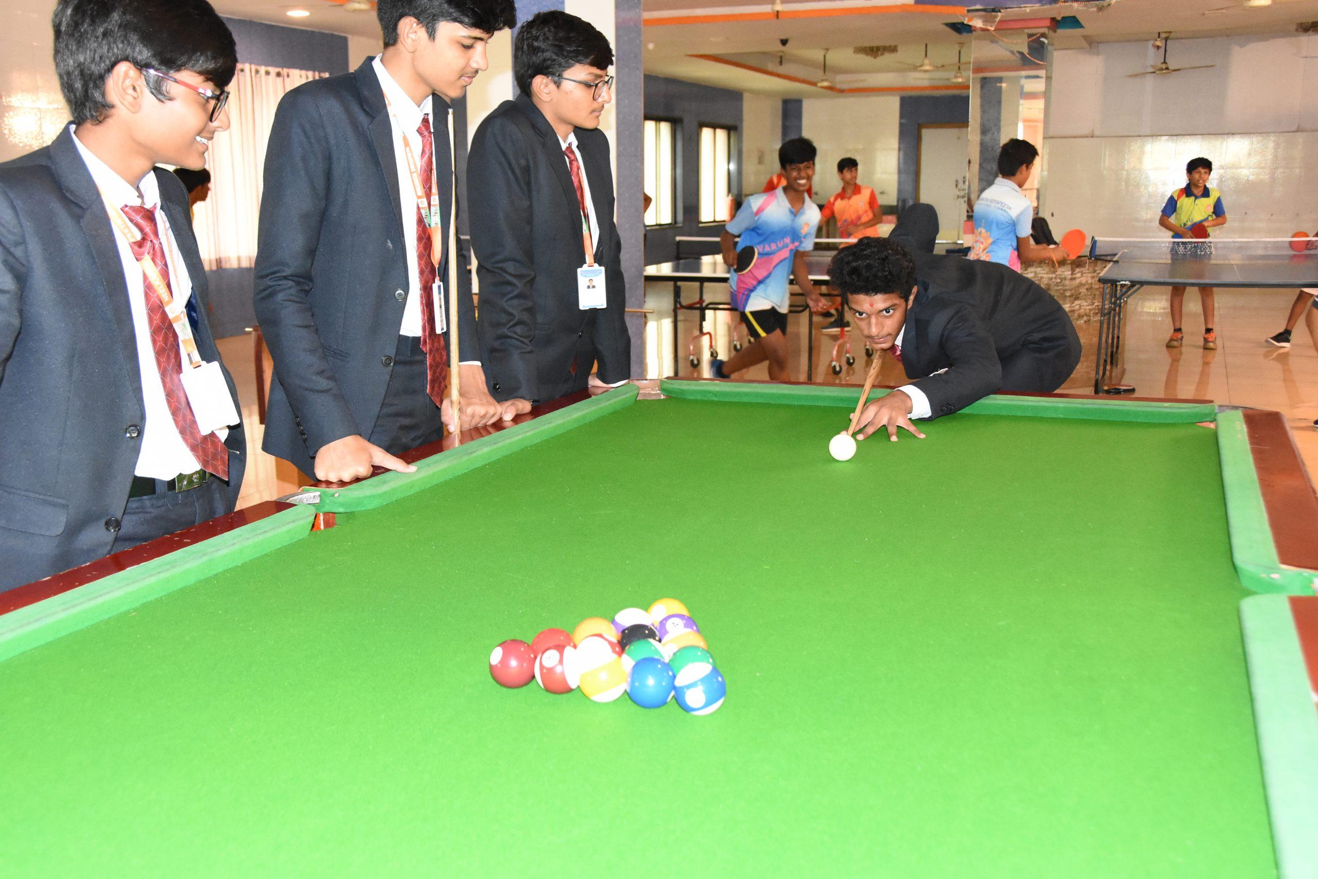 SHREE NEELAKANTH VIDYAPEETH Students Playing Indoor Games