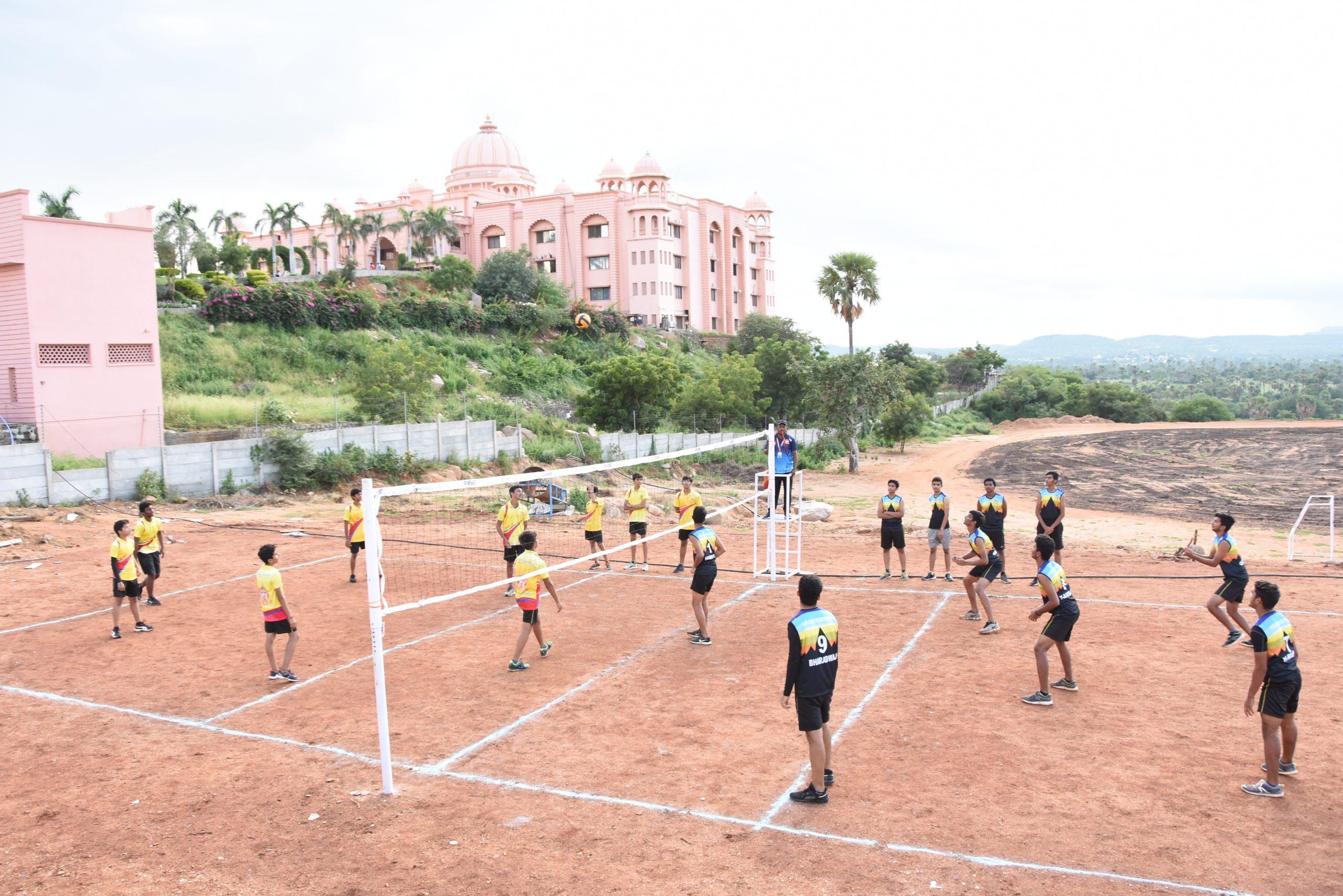 SHREE NEELAKANTH VIDYAPEETH Students Playing Outdoor Games