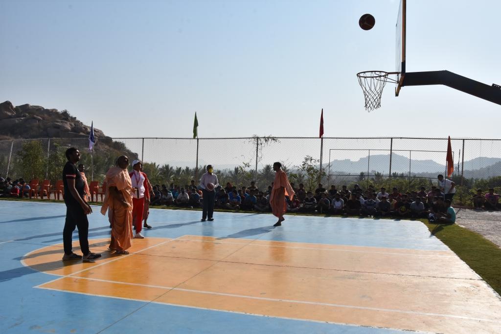 BASKET BALL GROUND AT SNVP